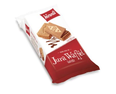 Extremely delicate Wafer with cocoa cream filling (74 %)