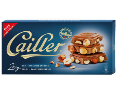 Cailler Milk Chocolate Bar with Hazelnuts - 200g