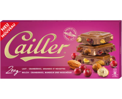 Cailler Tafel Milch Cranberry Nuss - 200g