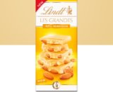 Lindt Les Grandes White Chocolate Bar with 32% Almonds - 150g